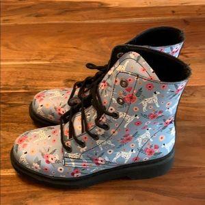 Groove Dalmatian High Top Rain Boots - 9 1/2 NWOT